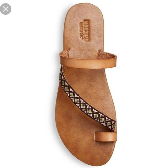 91935ffe8eed Brown Mossimo (Target) sandals. M 5b12325e2e14786f20f4c6b1
